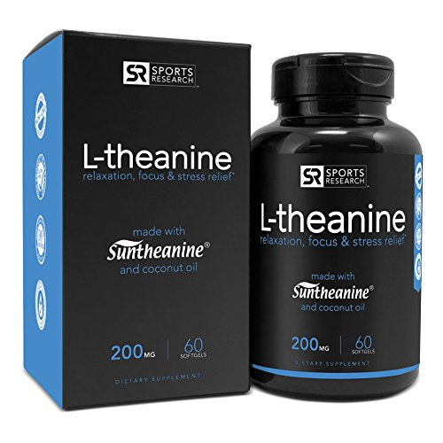 Suntheanine L-Theanine Review Relax Your Mind Relieve Stress